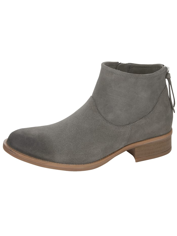 Ankle boots made of high-end velour leather