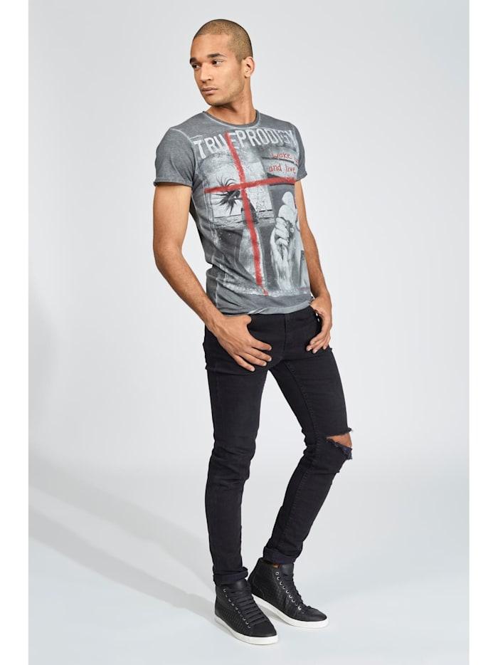 T-Shirt Melting ice mit coolem Grafik-Print