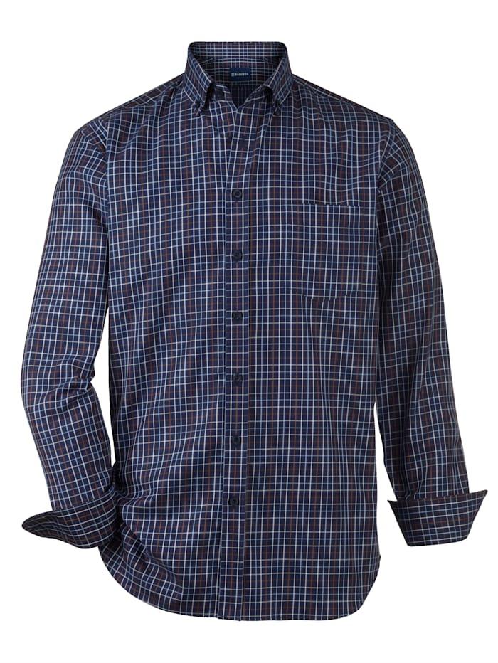 Babista Premium Chemise dans une qualité haut de gamme, Bleu foncé