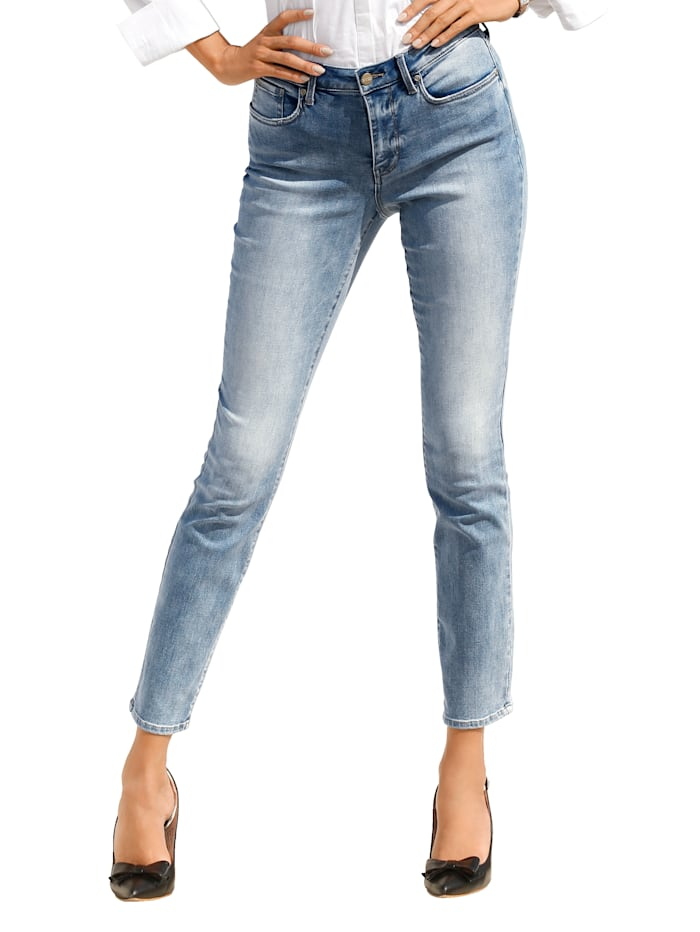NYDJ Jeans mit Shaping-Effekt, Hellblau