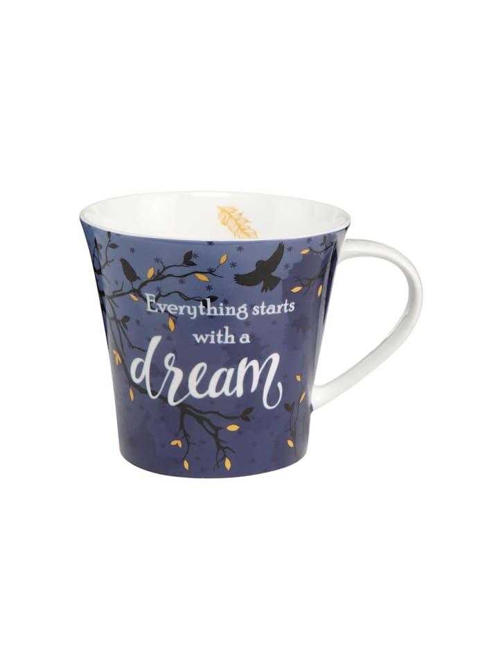 """Goebel Goebel Coffee-/Tea Mug Elephant - """"Dream"""", Blau"""