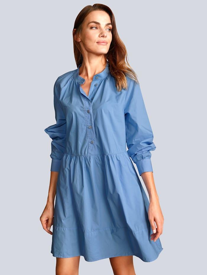 Marc Aurel Kleid in modischer Form, Blau