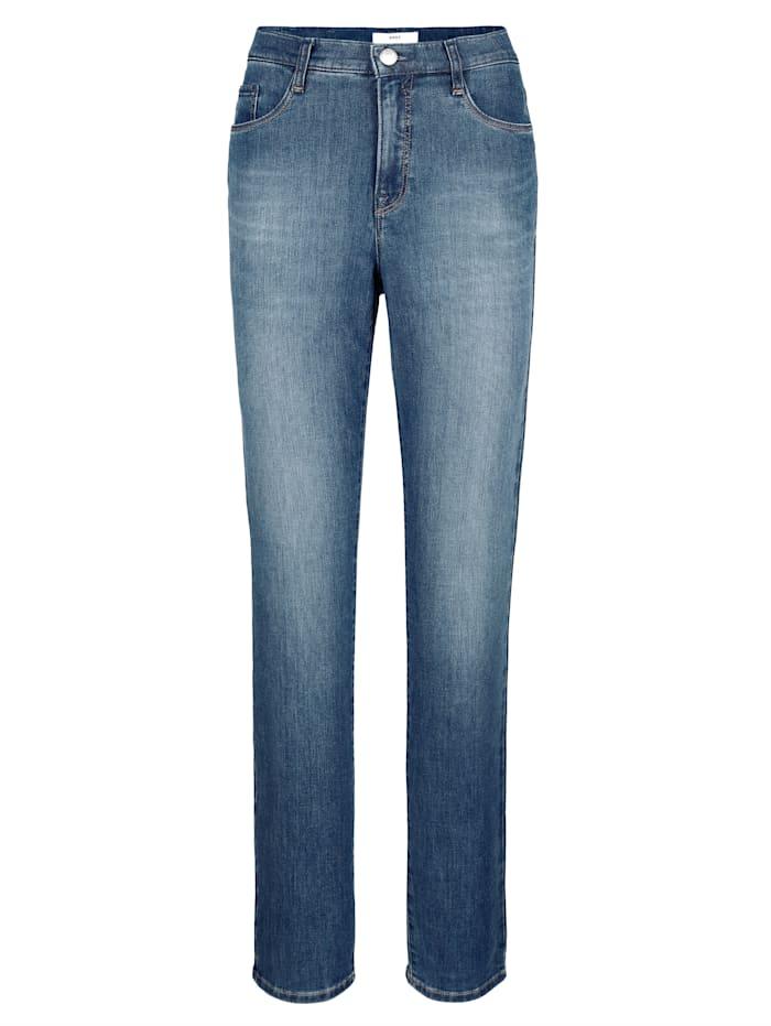 BRAX Jeans 'Carola' in klassischer Form, Blue stone