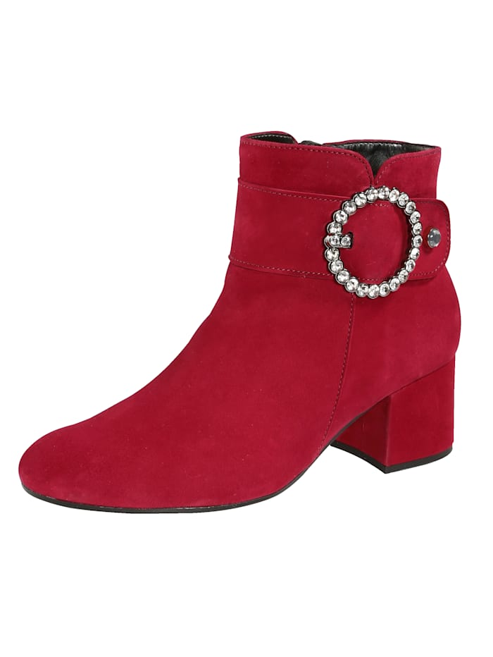 Gabor Ankle boots, Red