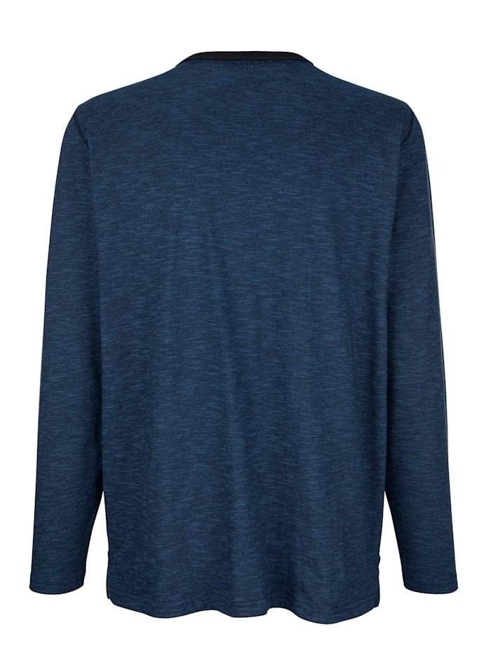T-shirt met praktische borstzakken