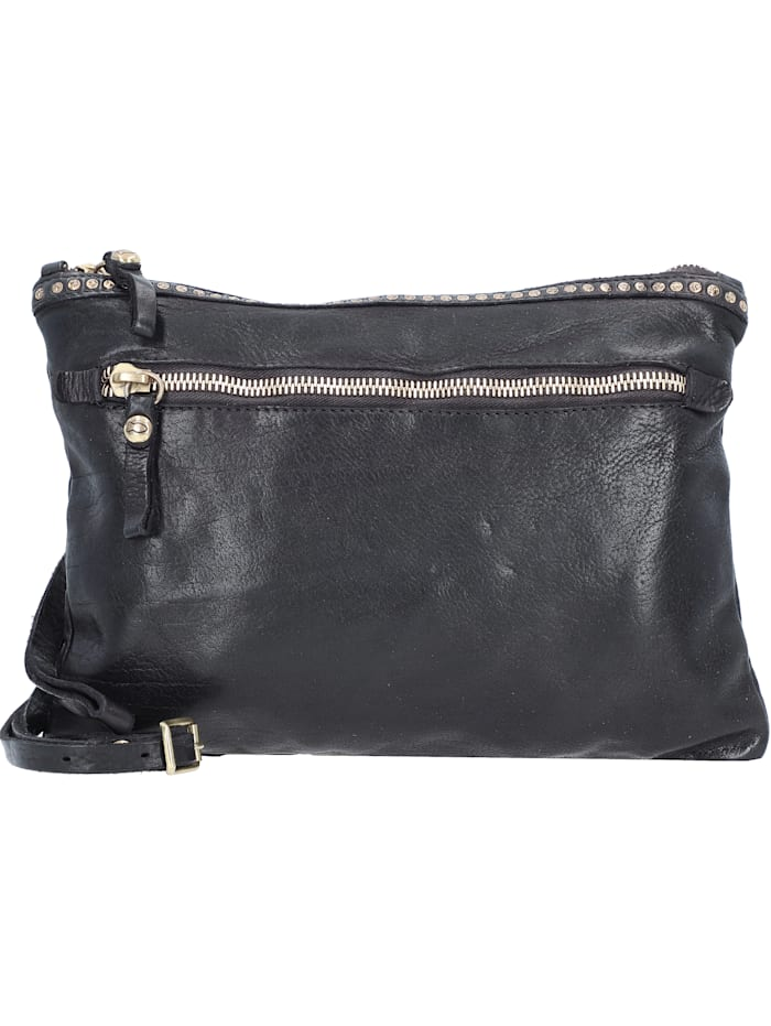 Campomaggi Handtasche Leder 32 cm, nero