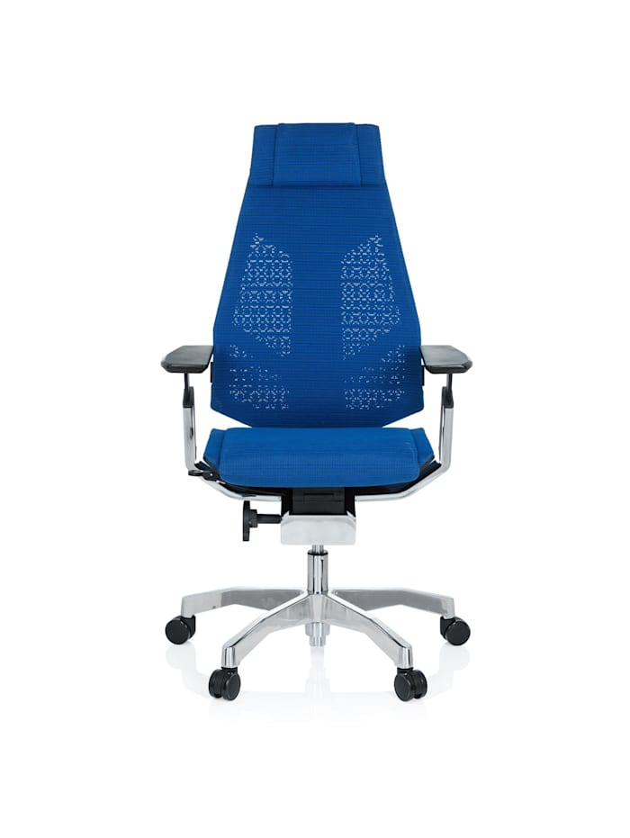 hjh OFFICE High End Bürostuhl GENIDIA PRO, Blau
