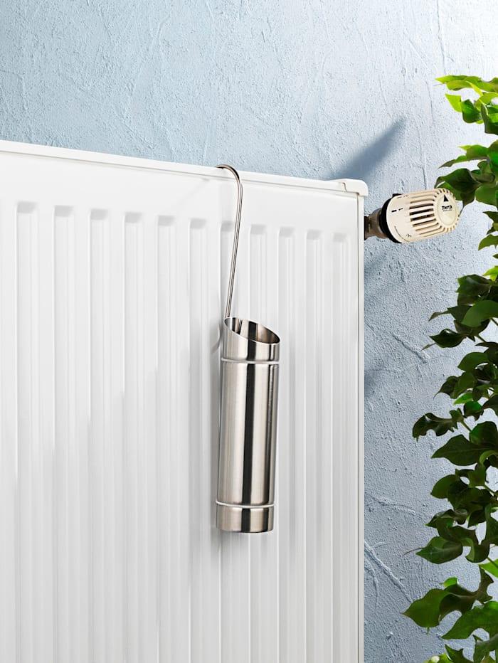 Luftfuktare i rostfritt stål – set med två