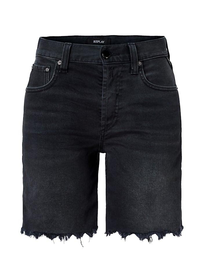 REPLAY Shorts, Schwarz