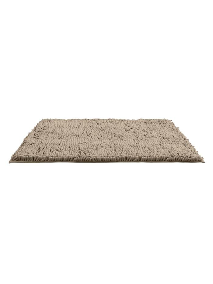 Badematte Chenille Sand, 50 x 80 cm