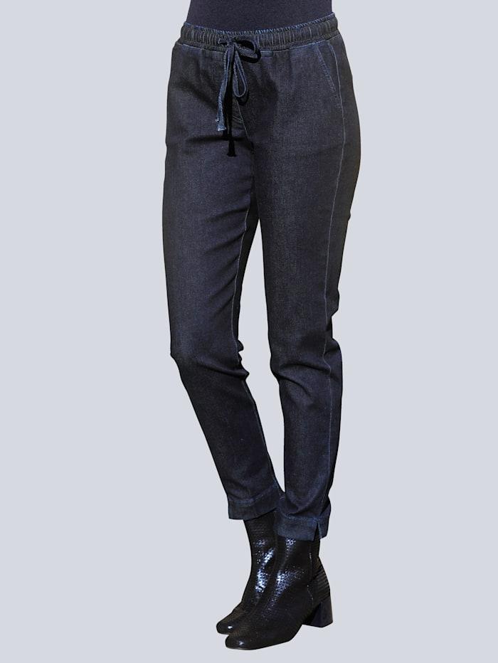 Alba Moda Jeans in modischer Joggpants-Form, Dark blue