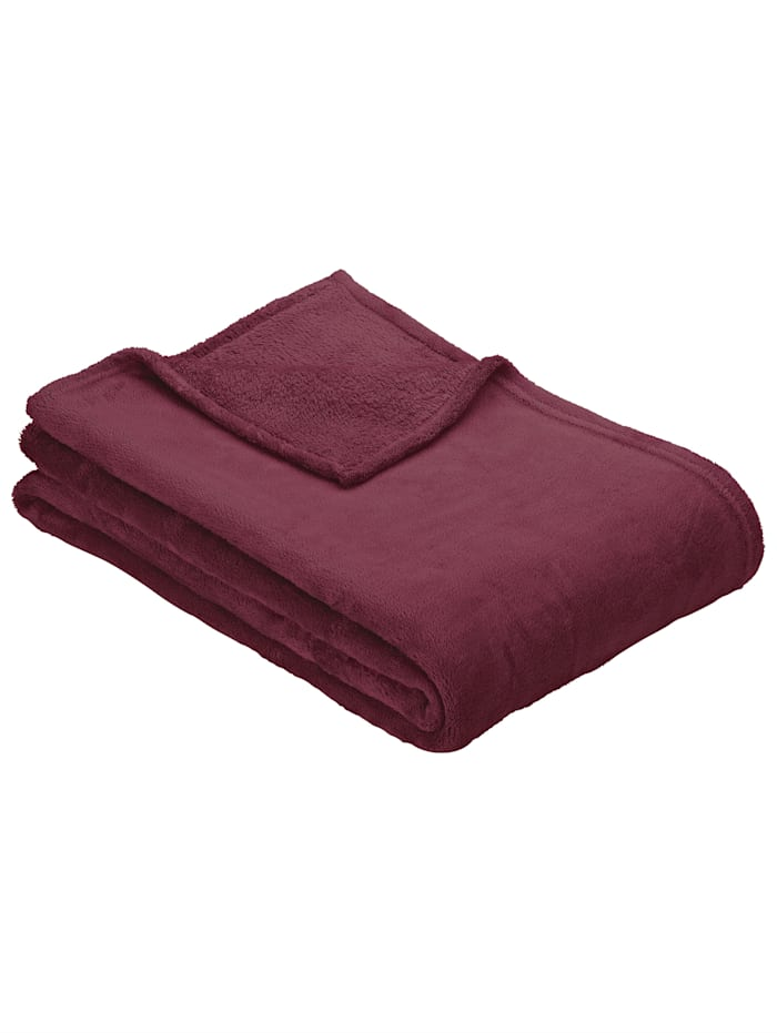 Ibena Fleecová deka Olbia, Fuchsie