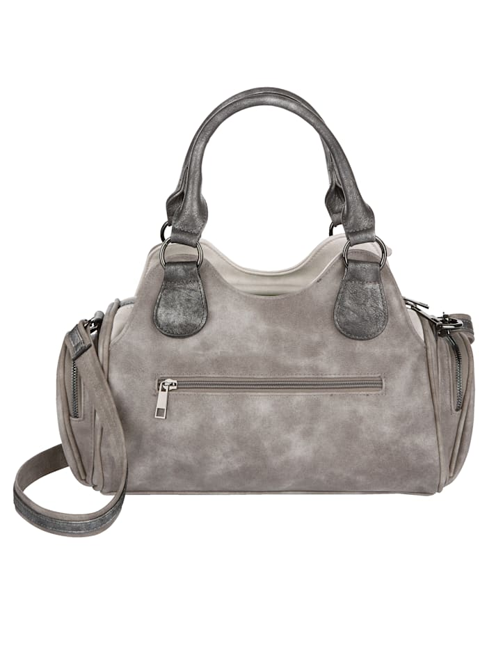 Handväska med gott om utrymme