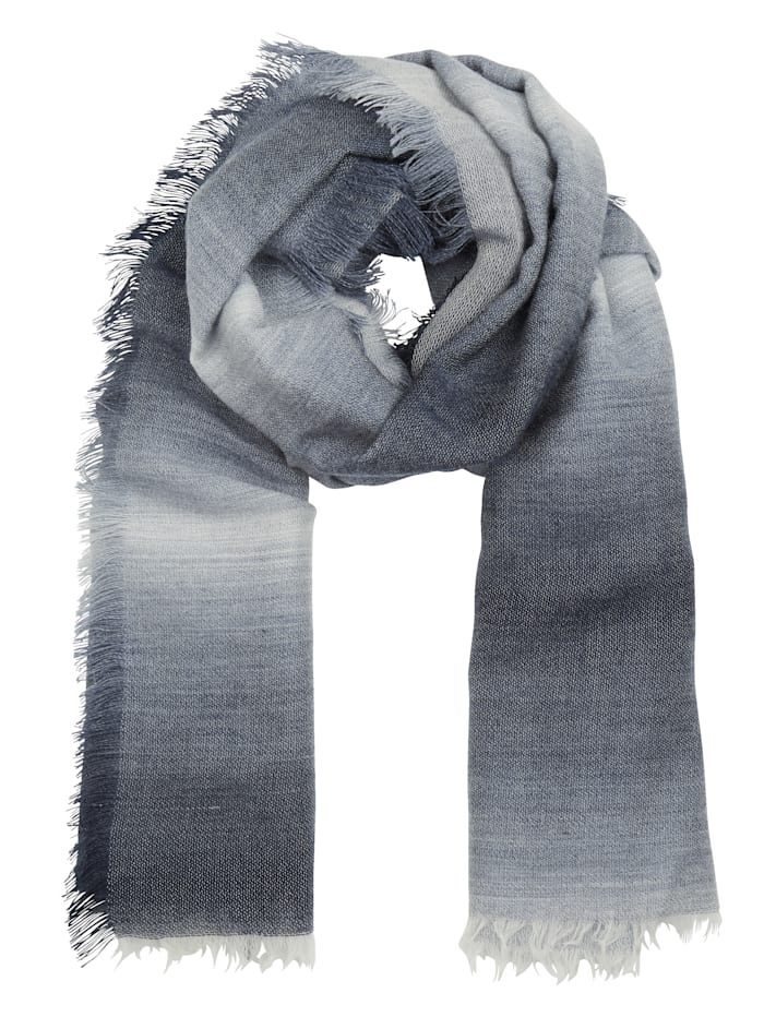 MONA Foulard, Marine/gris