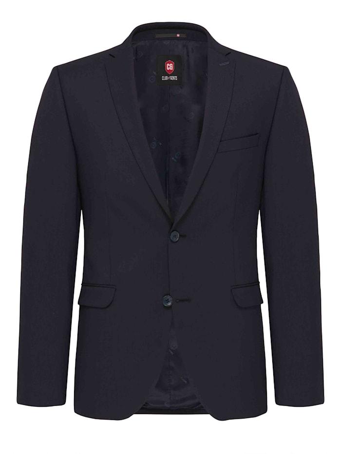 Club of Gents Split Suit Sakko CG Caden, Blau