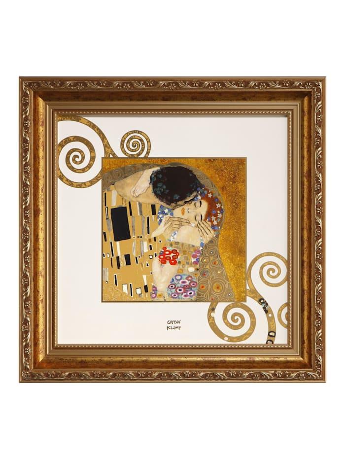 "Goebel Goebel Wandbild Gustav Klimt - ""Der Kuss"", Klimt - Kuss"