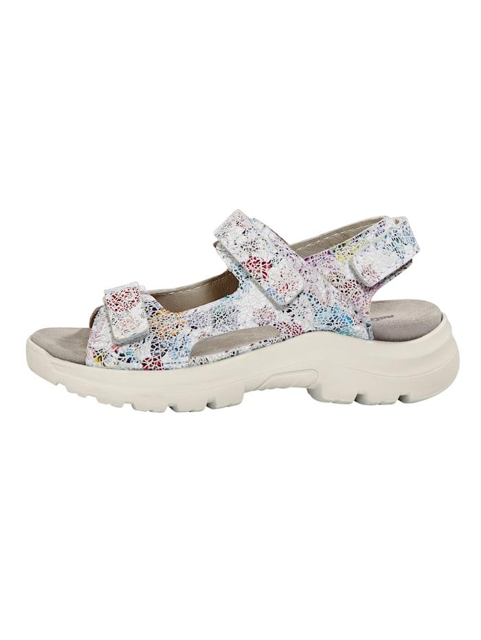 Sandale mit Klettverschlüssen