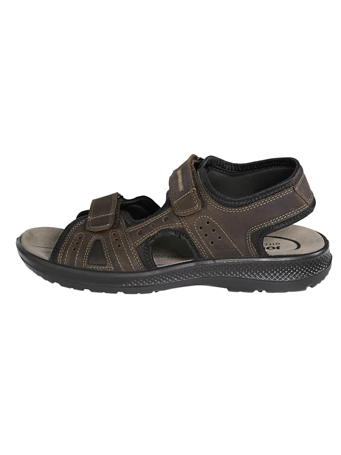 Sandale mit gepolstertem Lederfußbett