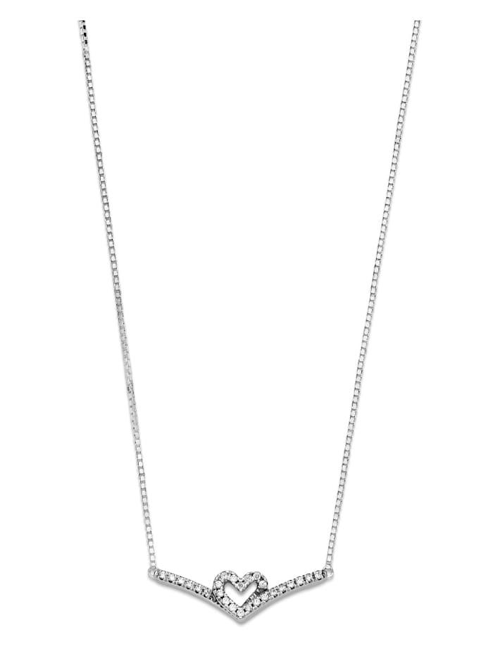 Collier, 925 -Wishbone Herz- 399273C01-45
