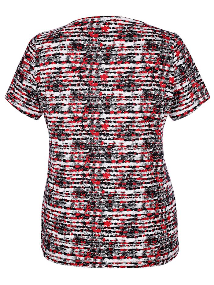 Shirt femininem Ausschnitt
