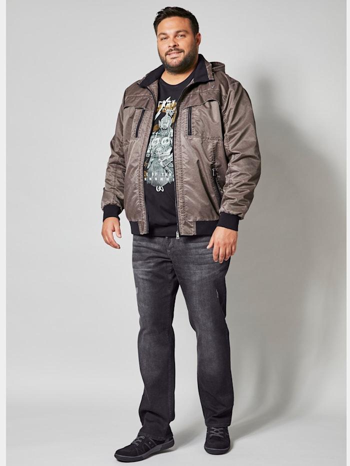 Men Plus Jacke Spezialschnitt, Braun