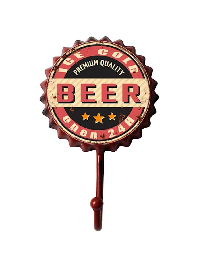 HTI-Line Garderobenhaken Bier, Bunt