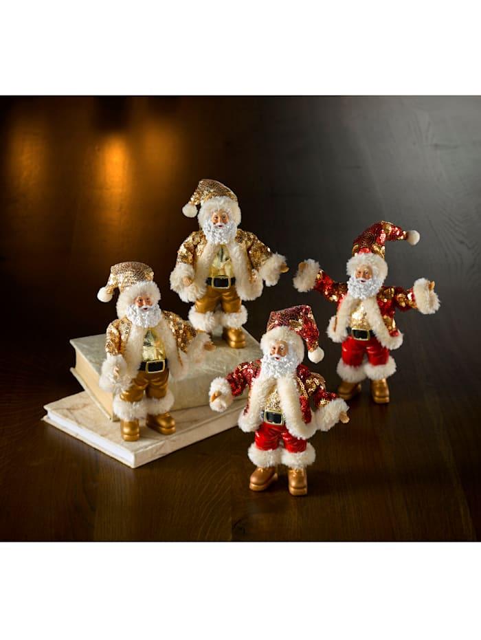 2 julenisser, Gull