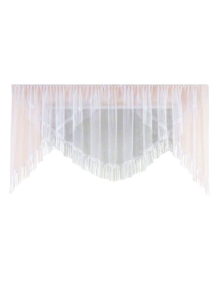 Webschatz Dekoračná záclona 'Agi', biela