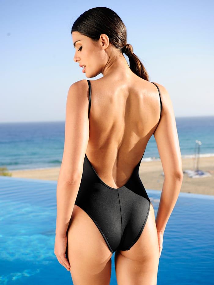 Badeanzug mit Adress-Druck