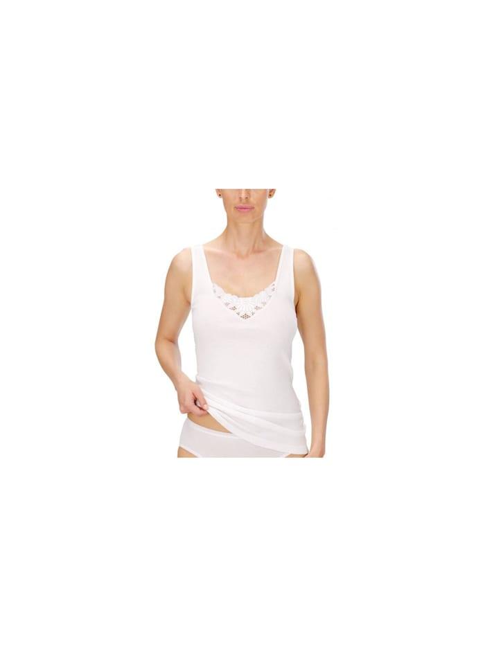 Naturana Damen Unterhemd, Weiss
