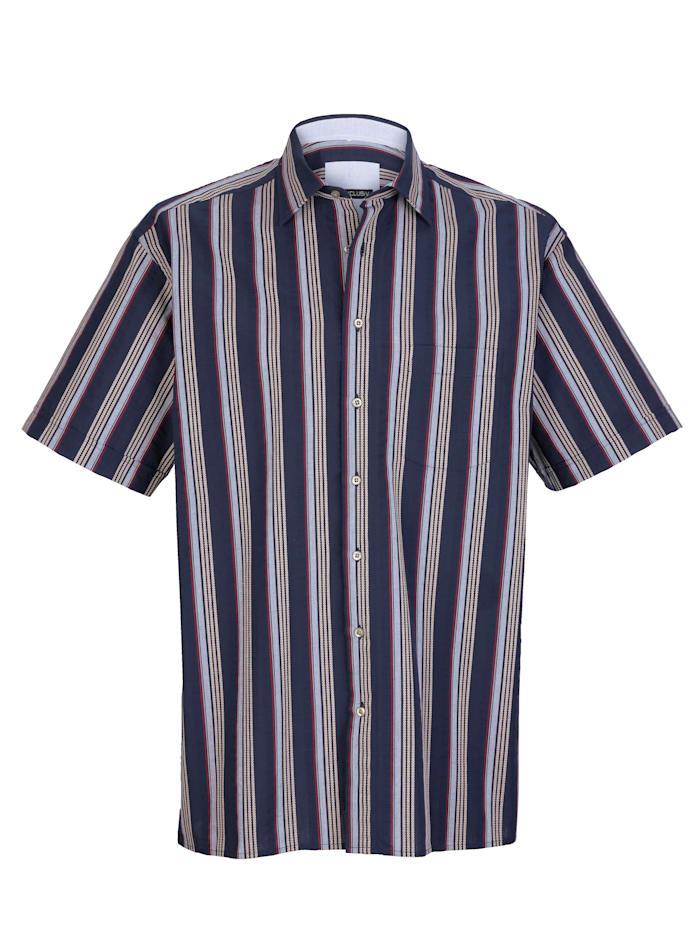 Skjorta, Marinblå