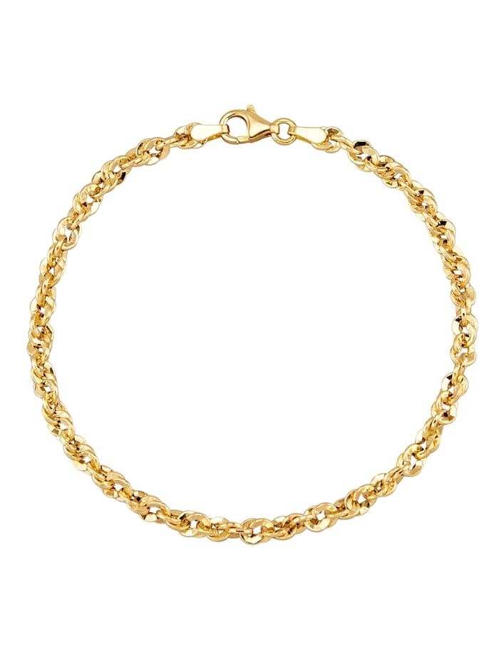 Amara Gold Armband in Gelbgold, Gelbgoldfarben