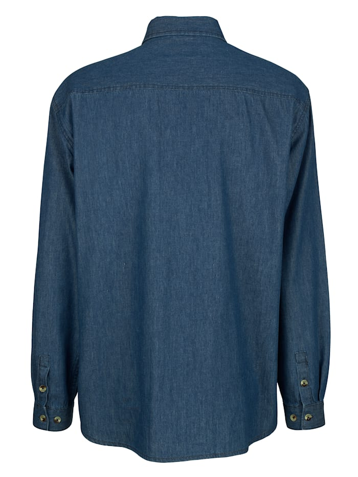 Jeanshemd mit Brusttaschen