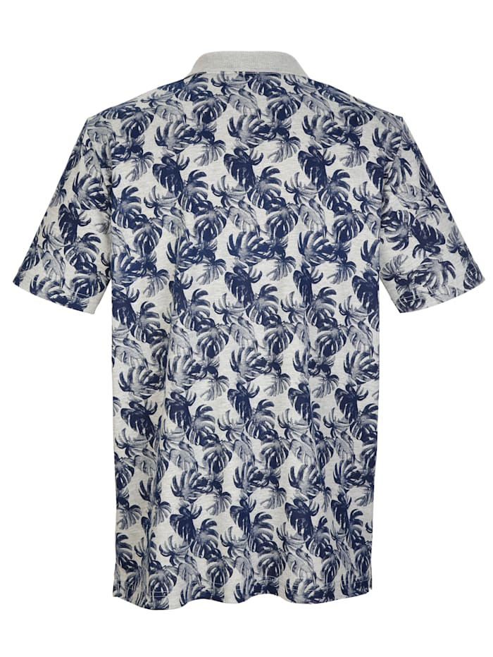 Lehtikuviollinen paita