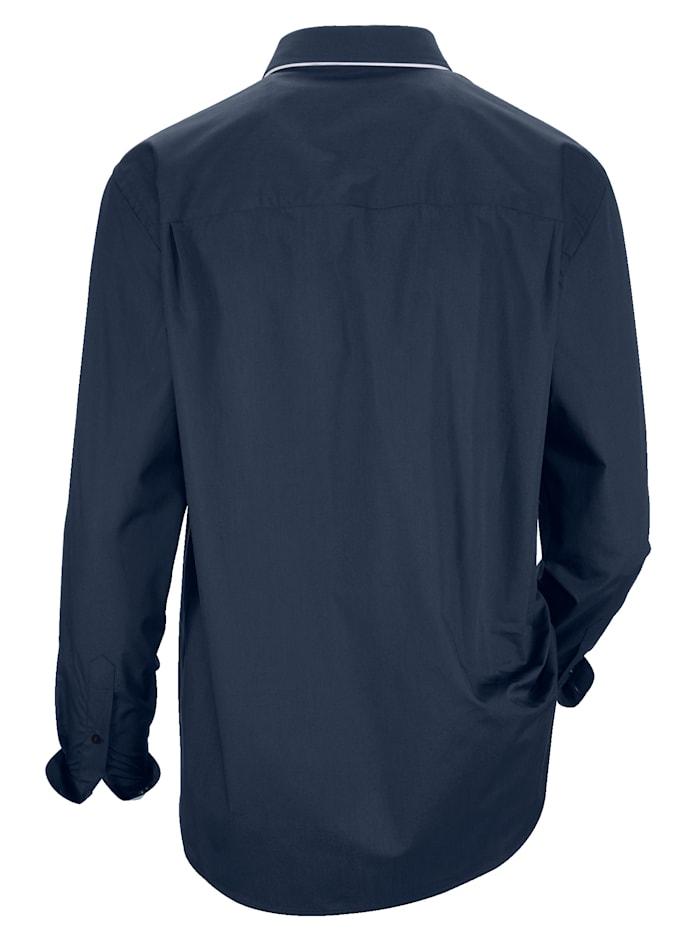 Chemise à double colboutonné