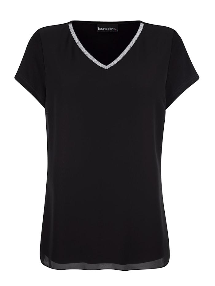 Shirt im Doppellagen-Look