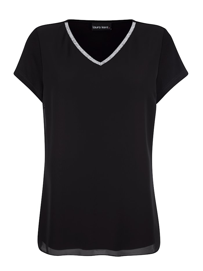 T-shirt d'aspect superposé