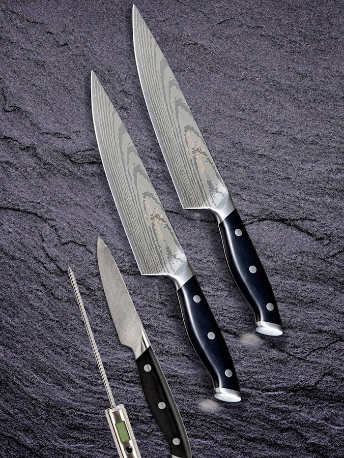 """Set de couteaux Razor Sharp Premium """"Trusted Butcher"""" 4 pièces"""