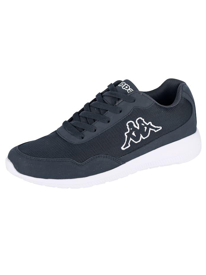 Kappa Sneaker in Mesh-Optik, Marineblau
