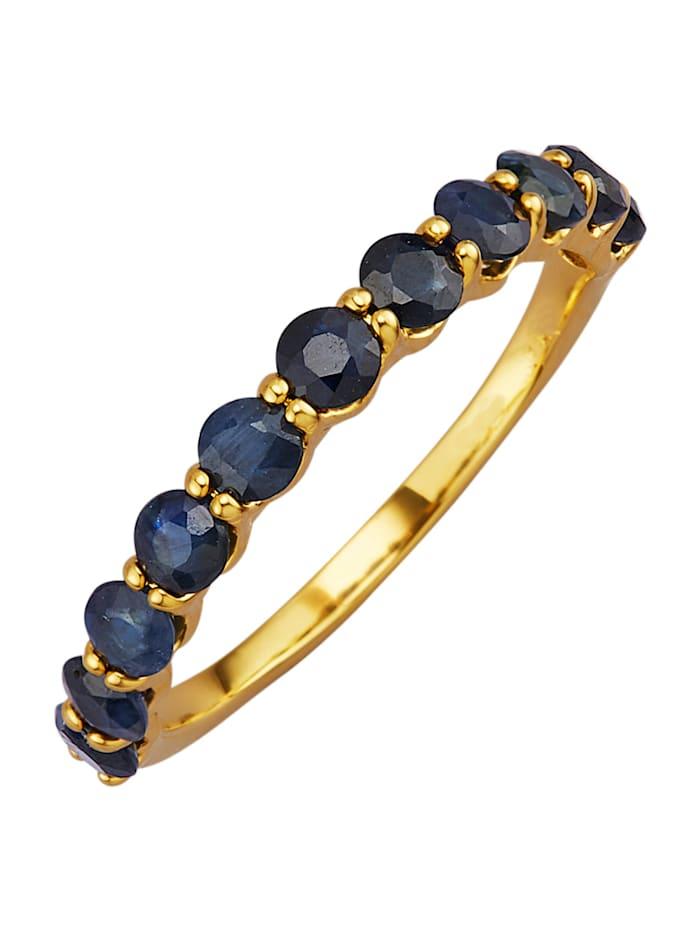 Damenring mit Saphiren, Blau