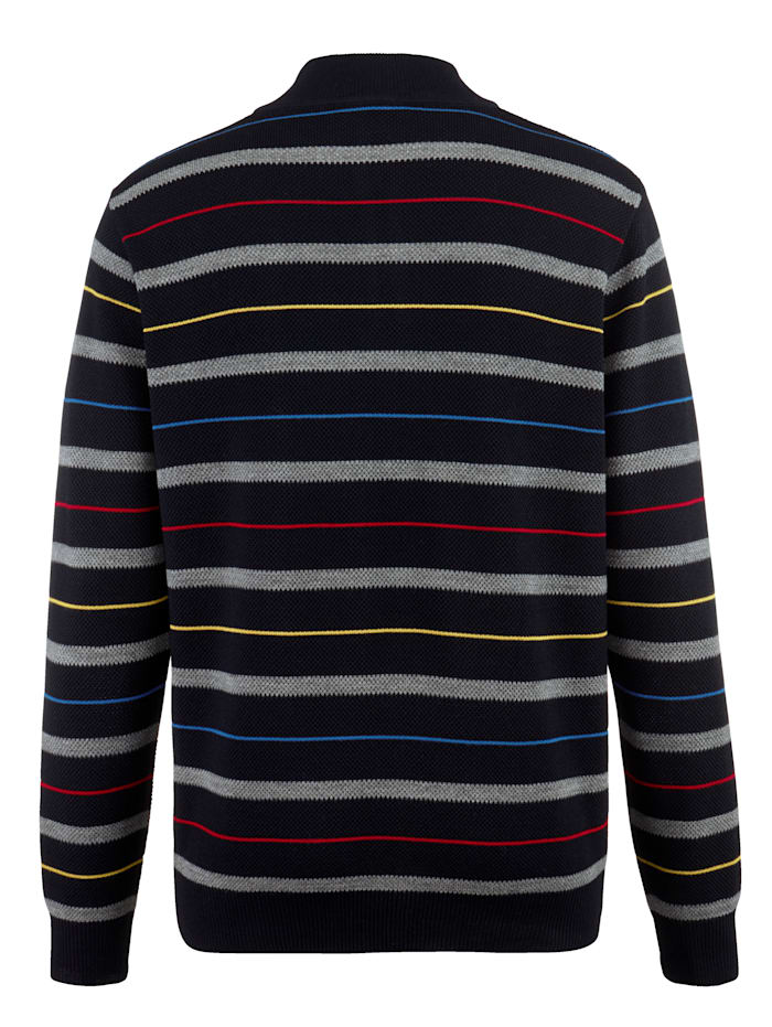 Pullover mit Teflon-Fleckschutz
