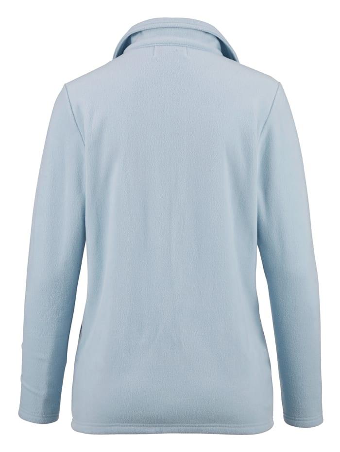Fleece vest van zacht materiaal