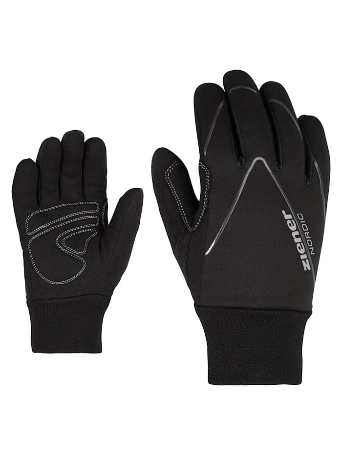 Ziener UNICO Junior glove crosscountr, Black
