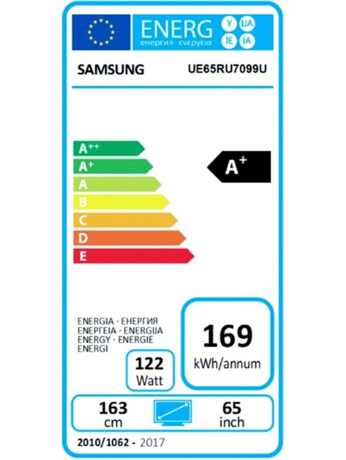 LED-Fernseher UE-65RU7099