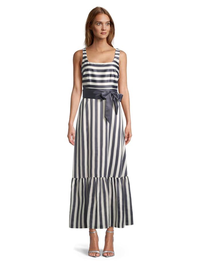 Vera Mont Abendkleid Mit Streifen Alba Moda