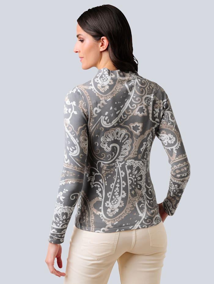 Pullover im exklusiven Dessin von Alba Moda
