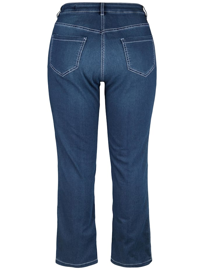 Doris Streich Jeans 5-POCKET-STYLE, jeansblau