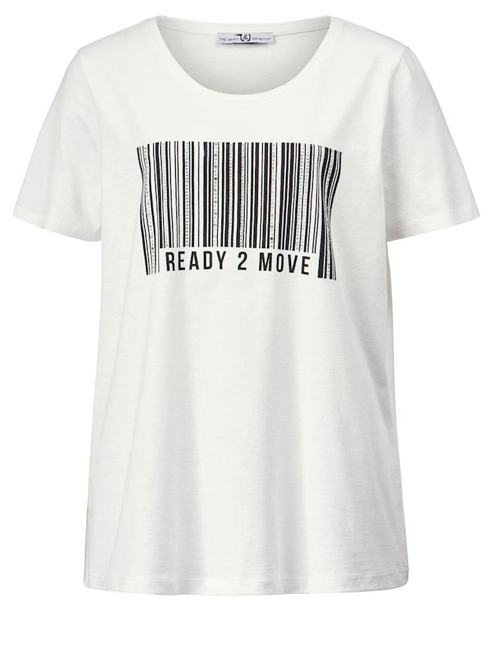 Shirt mit Barcode-Print