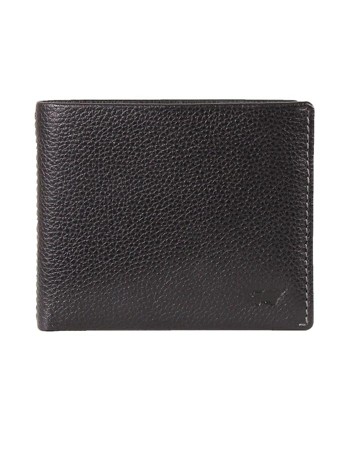 Braun Büffel Geldbörse PRATO mit RFID-Schutz, schwarz