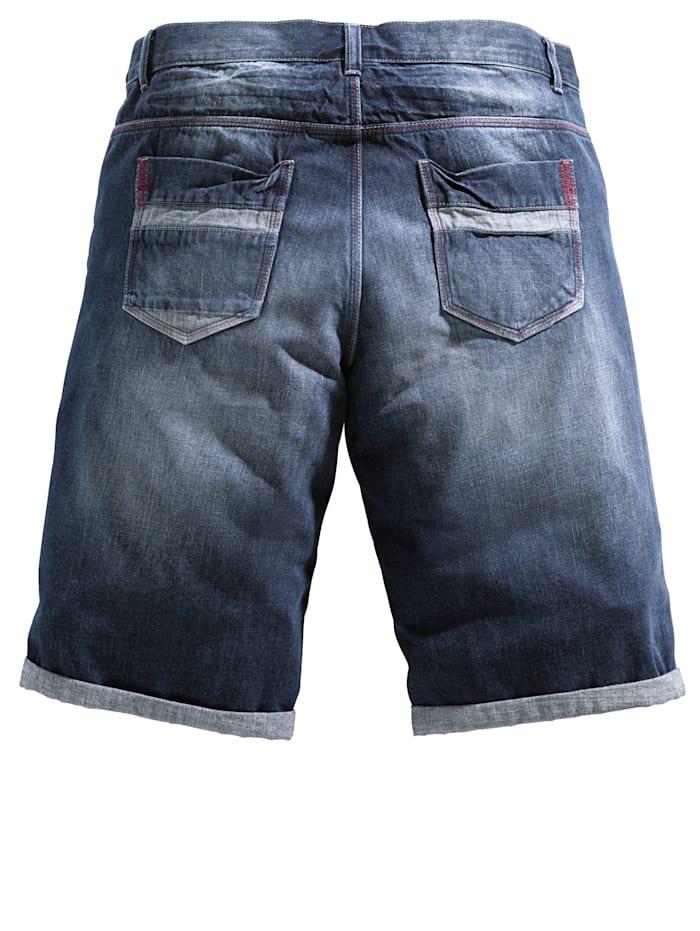 5-taskuiset farkkubermudat